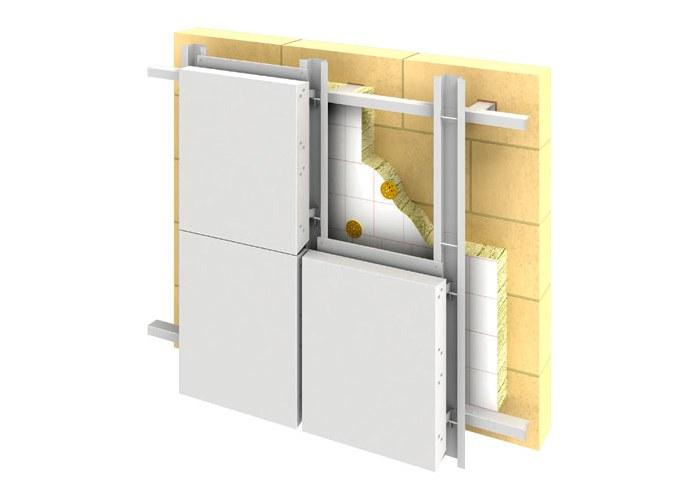 Услуги по установке вентилируемых фасадов от профессионалов